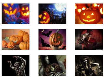 2011 Halloween 9900,9930 themes wallpaper pack