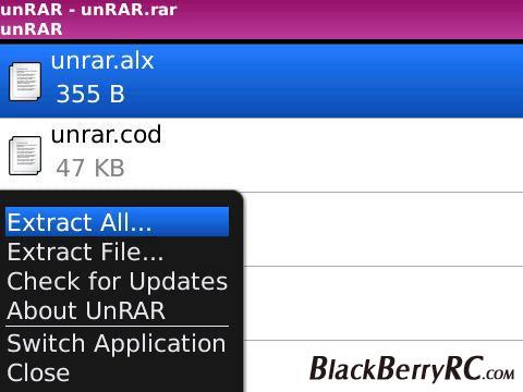 Unrar Files