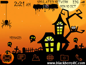 Halloween 2011 Ani. blackberry themes (Free Trial
