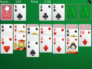 Solitaire v2.5.0 for blackberry os5.0, 6.0 games