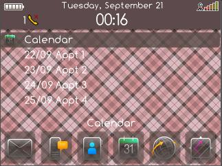Burberry Today Plus themes for blackberry 8520/8530