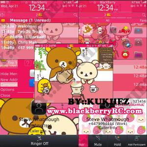 blackberry curve pink