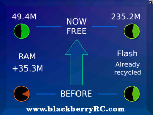 <b>Memory Recycler v1.0.1.50 for blackberry os5.0+ a</b>