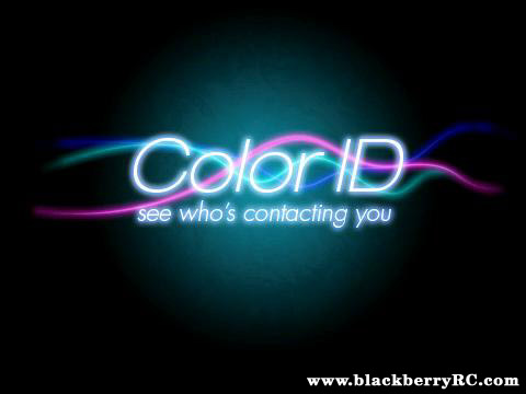 free Color ID™ v2.1.2 for blackberry os5.0+ app