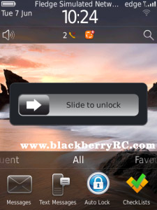 <b>Auto Lock v1.0.0 (Free Trial) for blackberry os5.</b>
