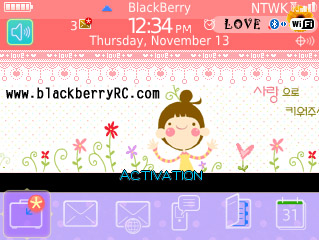 Blackberryrc Cute Cartoon Girl