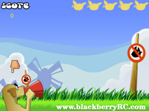 Angry Hunter v1.0.0 for blackberry torch,bold gam