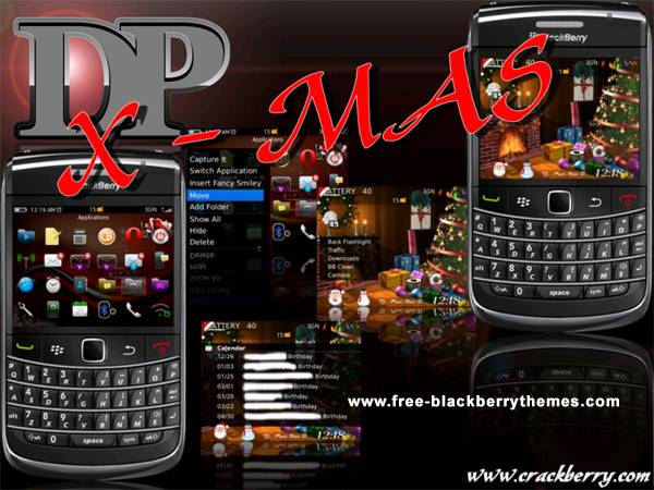 DP x-mas V2 9650 themes for blackberry os6.0