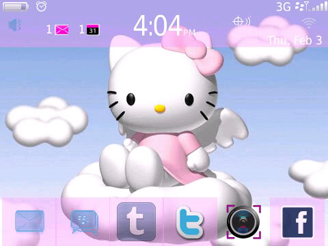 Free download themes hello kitty blackberry 9800