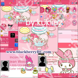 My Melody (マイメロディ) pink theme for bb 85xx, 93xx o