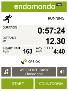 Endomondo Sports Tracker v8.6.0 apps for blackber