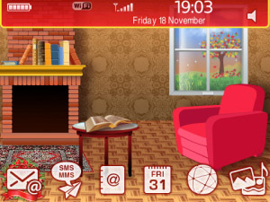 Deck The Halls v1.0.2 themes for blackberry