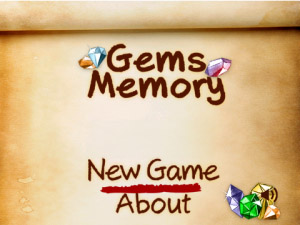 Gems Memory v1.0.0 for BB 9900,9930,9981 games