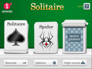 Free Solitaire v3.1.1 for blackberry games