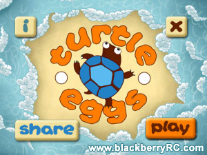 Turtle Eggs v1.0.0 for blackberry 85xx,93xx games