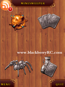 4 in 1 Solitaires and Minesweeper v1.0 for bb 81xx games
