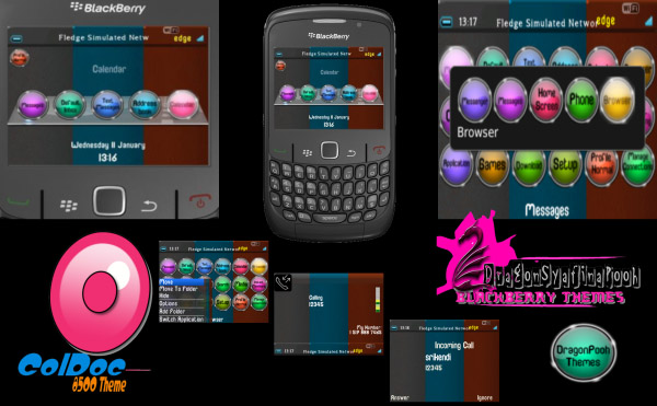 free ColDoc for blackberry 8520 themes