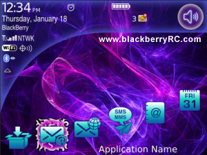 Cosmos v1.0.6 themes for blackberry 91xx,9670 os6.0