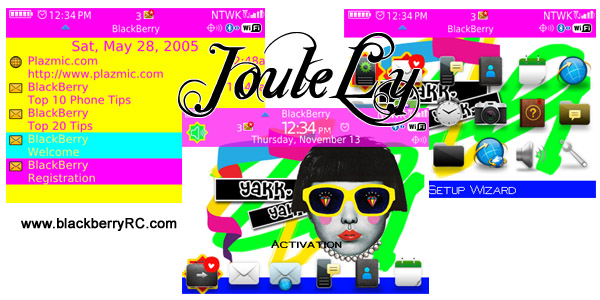 Joule os7.0 icons for blackberry 85xx,93xx themes