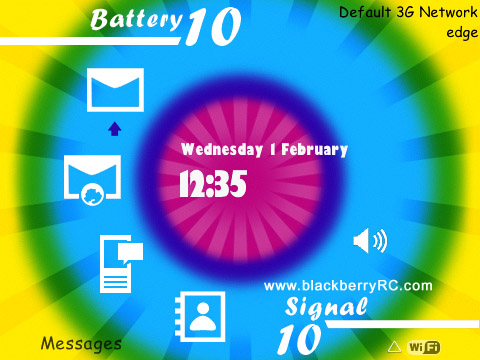 Infinite for blackberry 9630 os4.7 themes