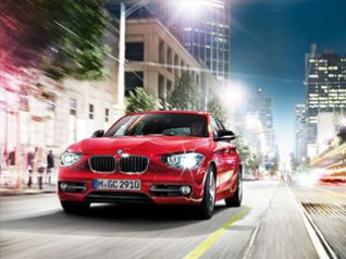 BMW 1 series for 360x480 storm wallpaper