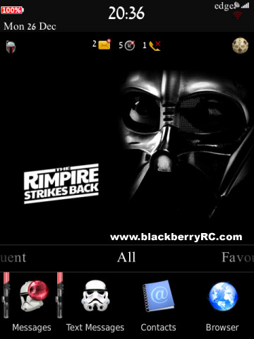 RIMpire Strikes Back for Torch2 9810 os7.0 themes