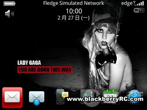 You are Born this Way for 89xx,96xx,9700 themes os5.0