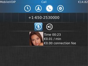 برنــامج MobileVoip  لـ اجراء المكالمات المجانيه على جهاز البلاك بيري