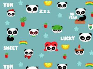 Cute Cartoon wallpaper for blackberry 99xx,98xx