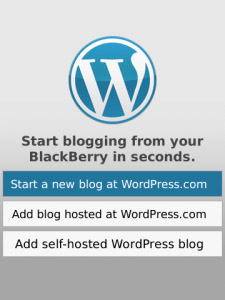 WordPress v1.6.0 beta2 for OS 6.0 apps
