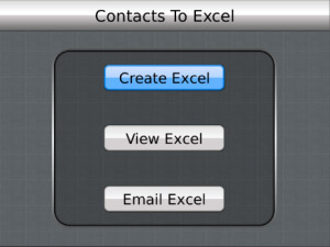Contacts to Excel v1.1.0