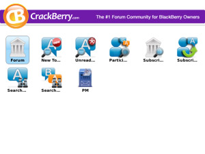 CrackBerry Forums v1.0 applications for blackberry