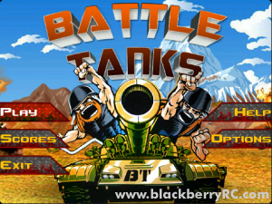 Free Battle Tanks v1.4 for 9900, 9930 games