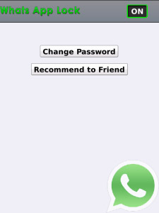 Lock v1.0.0 For WhatsApp Messenger