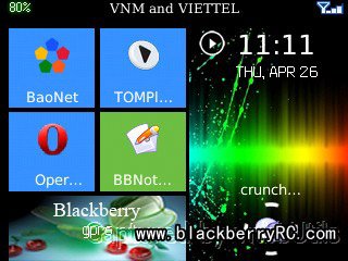 Windows phone 7 Style theme for bb 83,87,88 model