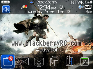 free Wrath of the Titans for blackberry 8530 themes