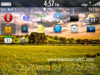 Minimalistic theme for blackberry 83xx,87xx,88xx
