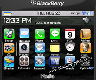 iPhone style Theme for bb 83xx,87xx,88xx os4.5