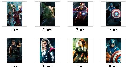 The Avengers for blackberry 9850,9860 wallpapers(480x800)