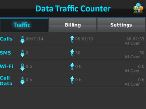 <b>Data Traffic Counter v1.0.1</b>