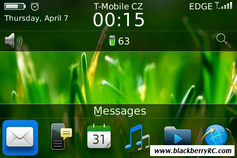 Be like OS7 for blackberry 9000 themes