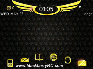 My Blingin for blackberry 83xx,87xx,88xx themes o