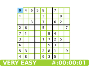 Sudoku Supreme 1.900.0 for blackberry free games