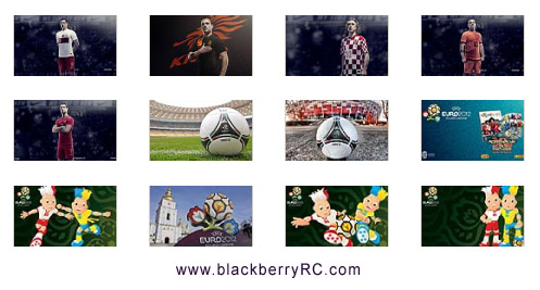 UEFA EURO 2012 - blackberry playbook backgrounds wallpapers