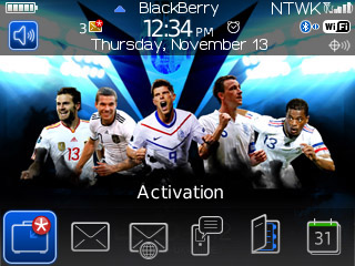 UEFA EURO 2012 for BB 85xx,93xx curve themes