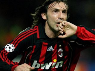 Andrea Pirlo for blackberry photos
