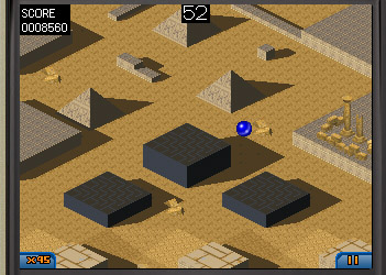 Marble Madness v1.0 for Blackberry os4.2, 4.5 games
