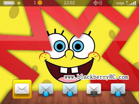 Cute SpongeBob os7 icon themes for 89xx,96xx,9700 themes
