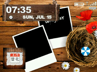 Wood Heart for curve 83xx,87xx,88xx themes