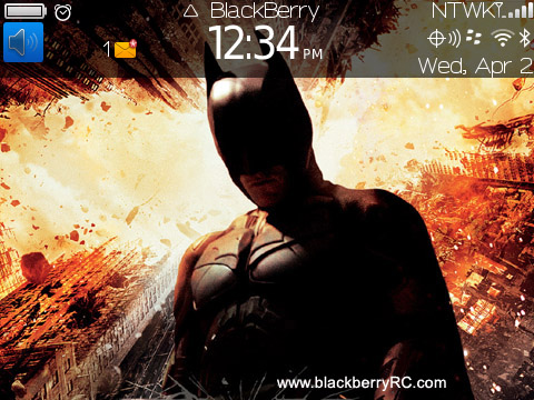 The Dark Knight Rises for bold 9650, 97xx themes